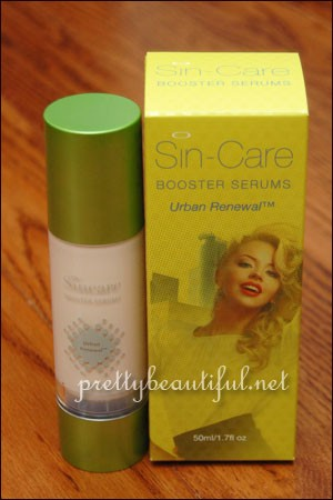 Sin-Care Booster Serums Urban Renewal