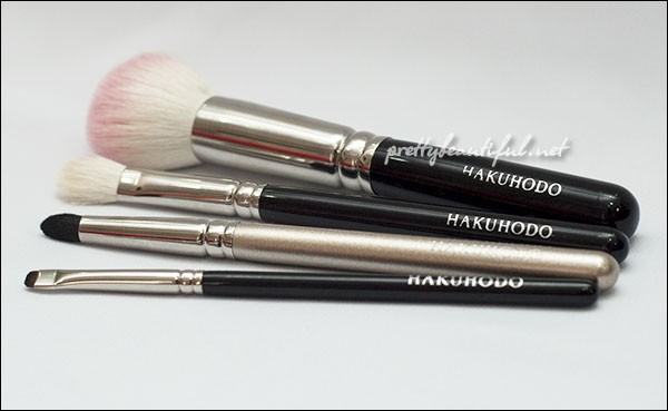 Hakuhodo brushes G series