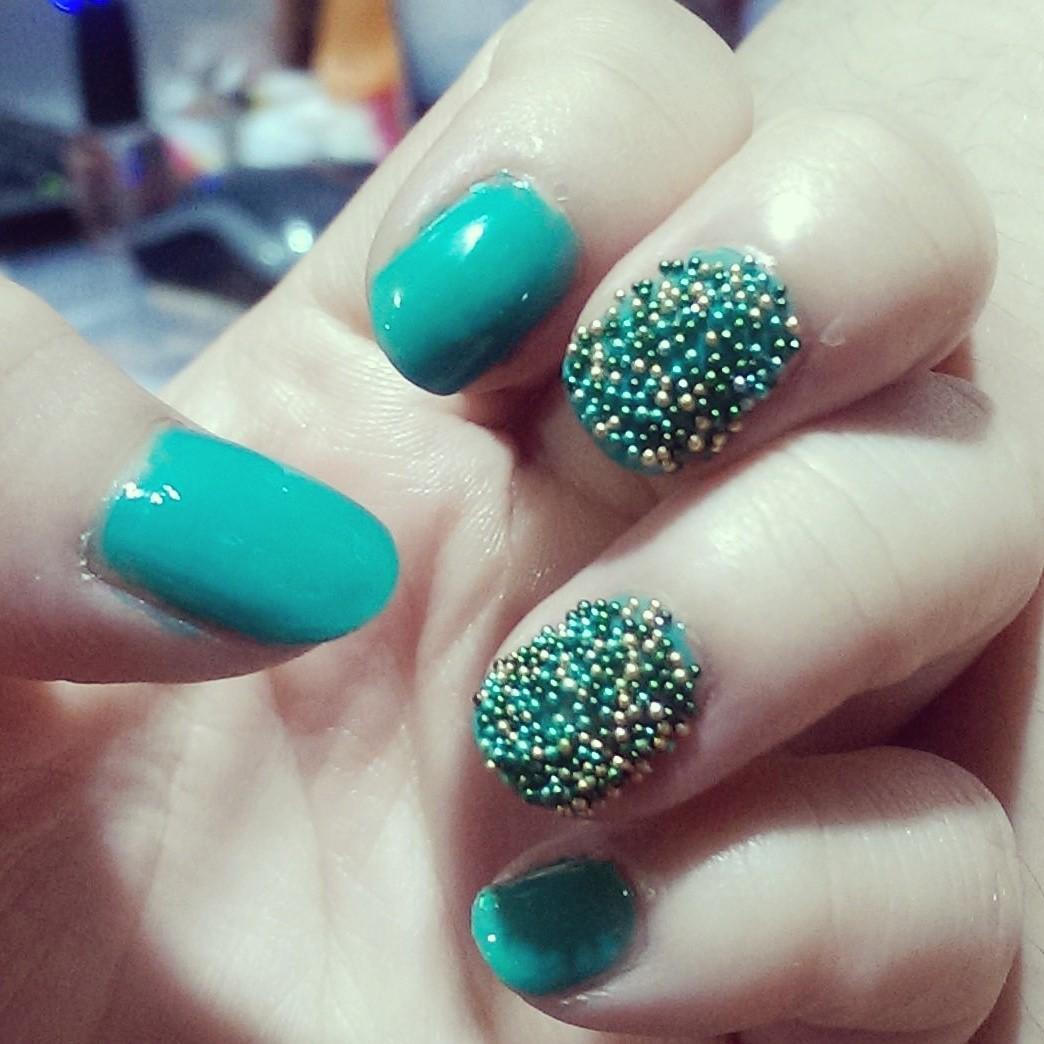 Ciate Bead Nails: Nail Art, Ciate, Ciate Caviar Nail