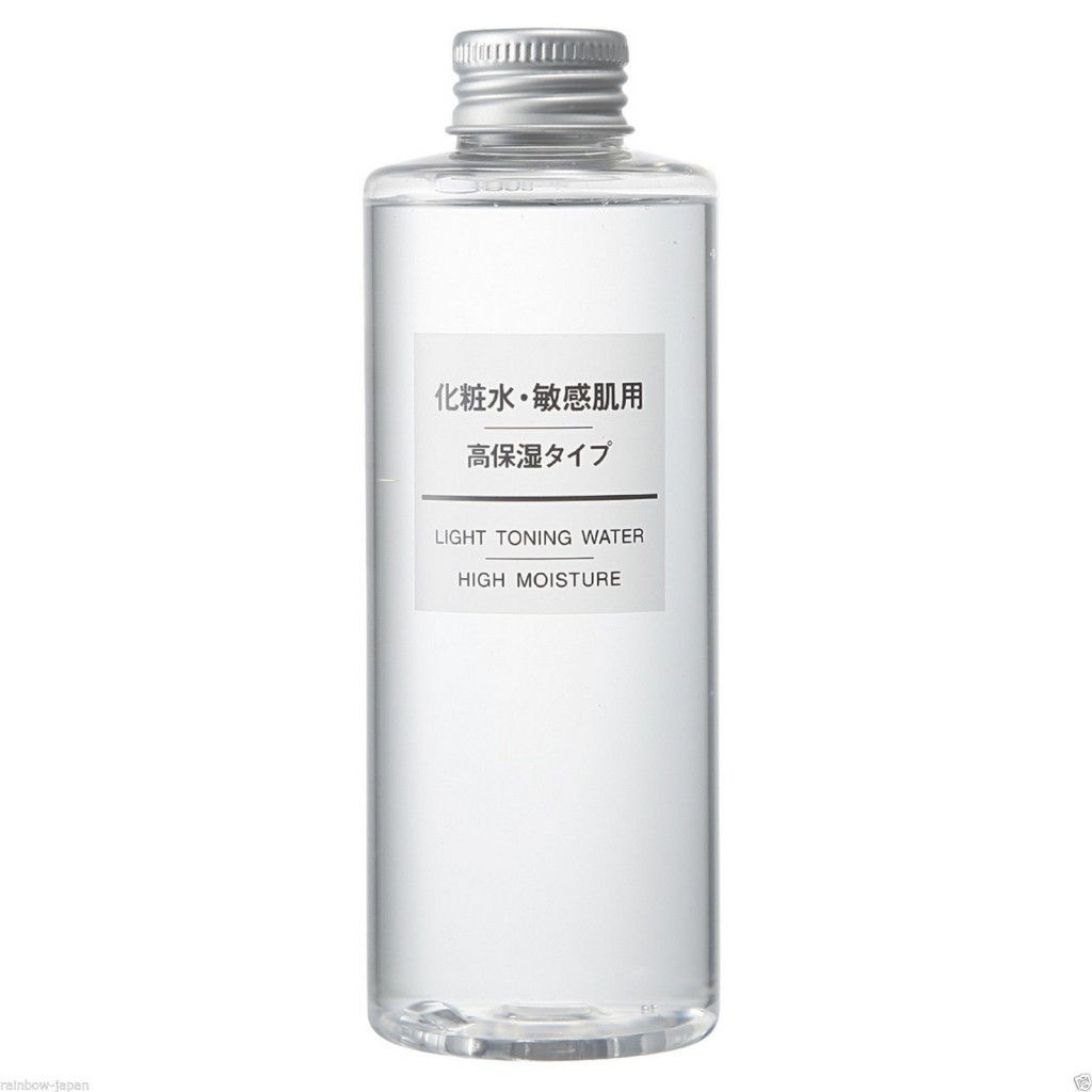 Muji High Moisture Light Toning Water
